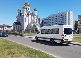 Маршрутка Светлогорск-Минск парка ЧТУП Мечта Странника